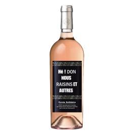 Cuvée solidaire Mainart 538 Rosé carton de 6 bouteilles