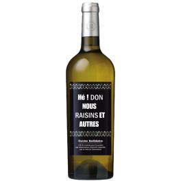 Cuvée solidaire Mainart 538 Blanc carton de 6 bouteilles