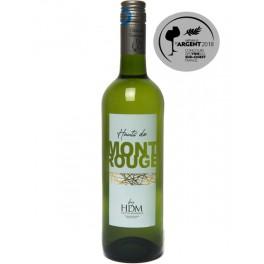 Hauts de Mont Rouge, Blanc Sec, 2018, Colombard Sauvignon, Médaille d'argent Concours des vins du Sud Ouest 2018